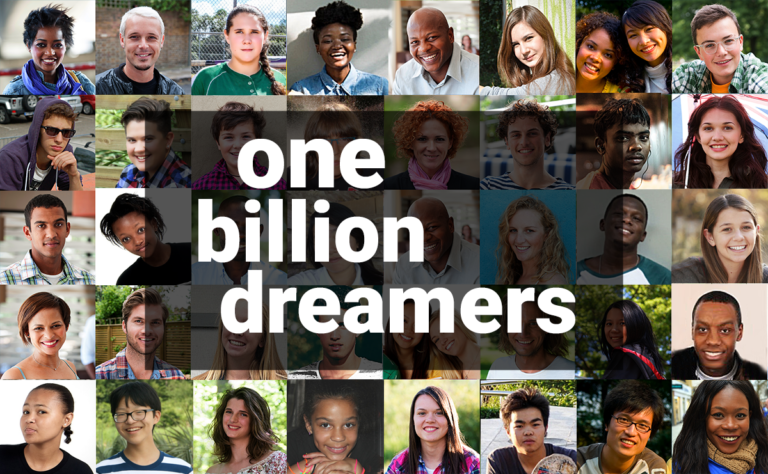 one billion dreamers
